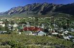 Thumbnail view over Montagu, Klein Karoo region