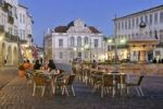 Thumbnail Outdoor cafe on the Praca do Giraldo square at night, Evora, UNESCO World Heritage Site, Alentejo, Portugal, Europe