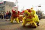 Thumbnail Lion dance, Taiwan, China, Asia