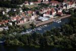 Thumbnail Aerial view, marina Havelberg, Saxony-Anhalt, Germany, Europe