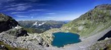 Thumbnail Schottensee Lake on Pizol Mountain in the Swiss Alps, Glarus Alps and Flumser Mountains, Glaernisch, Switzerland, Europe