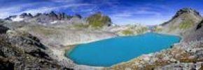 Thumbnail Wildsee Lake on Pizol Mountain in Heidiland near Bad Ragaz, Swiss Alps, Switzerland, Europe