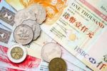 Thumbnail Close-up of Taiwanese banknotes and coins