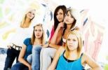 Thumbnail Five teenage girls