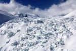 Thumbnail In the ice rifts of the Geant Glacier, Mont Blanc massif, Chamonix, Savoie Alps, France, Europe
