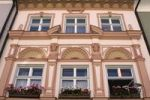 Thumbnail Windows and facade in the historic centre of Kaufbeuren, Bavaria, Germany, Europe