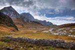 Thumbnail Ruins of a wall, Buchs, Eastern Swiss Alps, Austria, Europe