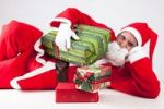 Thumbnail Santa Claus with Christmas presents