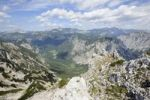 Thumbnail View to the Hochschwabmassiv massif, Mt. Pfarrerlacke in center, Trenchtling, Hochschwab, Styria, Austria, Europe