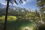 Thumbnail Reiteralpe Mountains at Hintersee Lake, Ramsau, Berchtesgadenener Alps, Upper Bavaria, Bavaria, Germany, Europe
