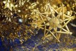 Thumbnail Christmas decorations with a star made of straw