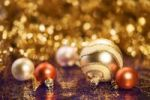 Thumbnail Christmas decorations with baubles for the Christmas tree
