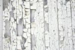 Thumbnail Flaking white paint on old wood