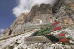 Thumbnail Hiking trail in Tofana de Rozes, Cortina d'Ampezzo, Italy, Europe
