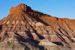 Thumbnail Colourful mountains, Paria Movie Set, Arizona, Utah, USA