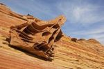 Thumbnail Boxwork rocks, bizarre rock formations in Coyote Buttes North, Paria Canyon-Vermilion Cliffs Wilderness, Utah, Arizona, USA