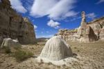 Thumbnail Hoodoos in the White Valley, rock formations, Utah, America, United States