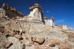 Thumbnail Rock formations, Bisti Badlands, Bisti Wilderness Area, New Mexico, USA