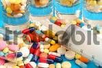 Thumbnail tablets and syringe