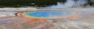 Thumbnail Grand Prismatic Spring, Midway Geyser Basin, Yellowstone National Park, Wyoming, Idaho, Montana, America, United States