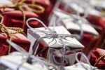 Thumbnail Red and silver gifts, Christmas