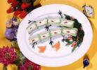 Thumbnail Elaborately decorated dish