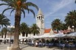 Thumbnail Promenade, church of the Dominican monastery, Trogir, Dalmatia, Croatia, Europe