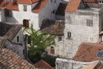 Thumbnail View from the spire of the cathedral, Trogir, Dalmatia, Croatia, Europe