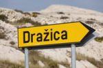 """Thumbnail Sign """"Drazica"""", Pag island, Dalmatia, Adriatic Sea, Croatia, Europe"""