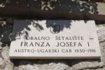 Thumbnail Plaque on the promenade, Obalno Setaliste Franza Josefa I. Austro-Ugarski Car 1830-1916, Opatija, Lungomare, Istria, Kvarner Gulf, Croatia, Europe