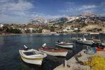 Thumbnail Lefkos fishing port, island of Karpathos, Aegean Islands, Dodecanese, Aegean Sea, Greece, Europe