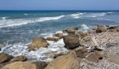 Thumbnail Wild coast near Kamiros, Rhodes island, west coast, Greece, Southern Europe, Europe