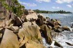 Thumbnail Granite rocks at the sea, island of La Digue, Seychelles, Africa, Indian Ocean