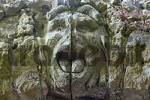Thumbnail Sanspareil district of Kulmbach Upper Frankonia Bavaria Germany rock garden aranged by countess Wilhelmine of Bayreuth 1745-1748 ruined rock theater mask head