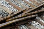 Thumbnail railroad tracks, point