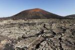 Thumbnail Montaña Negra volcano, lava field, Lanzarote, Canary Islands, Spain, Europe