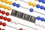 Thumbnail Abacus with computer keyboard keys spelling the word blog