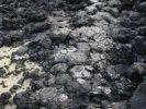 Thumbnail Bitumen on a rocky coast following an oil spill, Lanzarote, Canary Islands, Spain, Europe