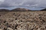 Thumbnail Montaña Ortiz volcano, lava field with lichens, Lanzarote, Canary Islands, Spain, Europe