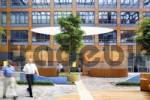 Thumbnail bank court yard modern office building
