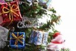 Thumbnail Christmas decoration, lettering Merry Christmas