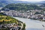 Thumbnail View of Boppard on the Rhine river, Rhineland-Palatinate, Germany, Europe