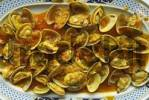 Thumbnail Dish with clams Veneridae, Galicia, Spain, Europe