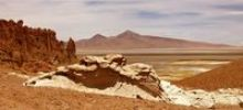 Thumbnail View of the Tara salt lake, Atacama Desert, Chile, South America