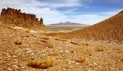 Thumbnail View of the Tara salt lake, Atacama Desert, Chile, South America