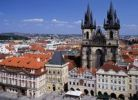 Thumbnail Cityscape, bird's-eye view, Prague, Czech Rebublic, Europe