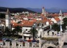 Thumbnail Cityscape, bird's-eye view, Trogir, Croatia, Europe