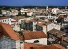 Thumbnail Cityscape of Porec, bird's-eye view, Croatia, Europe