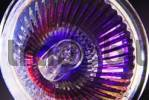 Thumbnail Reflector of a halogen bulb in dazzling bright colors