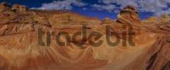 Thumbnail quotThe Wavequot, Paria Sandhills, Vermillion, Wilderness, Utah, USA